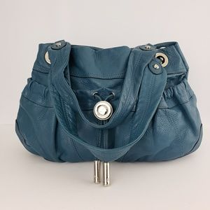 B. Makowsky Leather Handbag